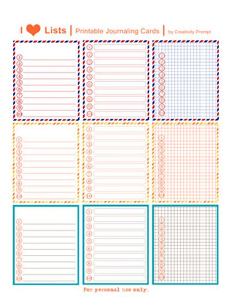 free journal card templates 9 best images of smash journaling printables smash book