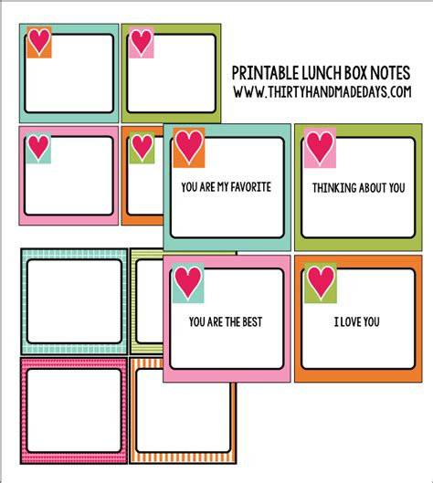 lunch box planner printable packed lunch ideas not just for kids