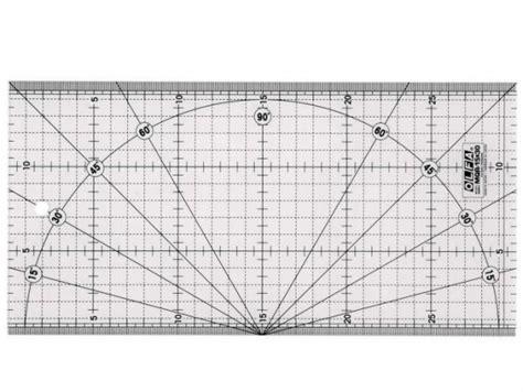 Olfa Quilt Ruler 15x 30cm olfa ruler mqr 15 x 30 cm quilt en hobby