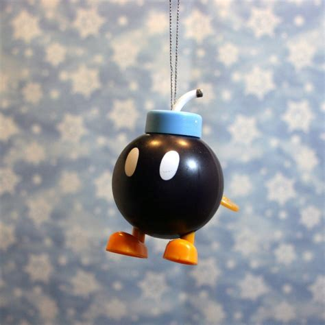 Mario Bros 3 Dot Pin Set by Nintendo Mario Brothers Bomb Omb Ornament