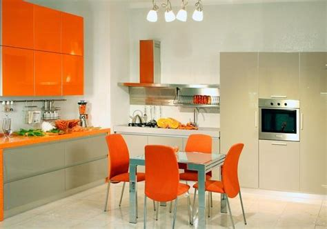 kitchen decorating ideas colors orange kitchen colors 20 modern kitchen design and