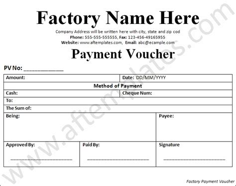 salary voucher template best template design images