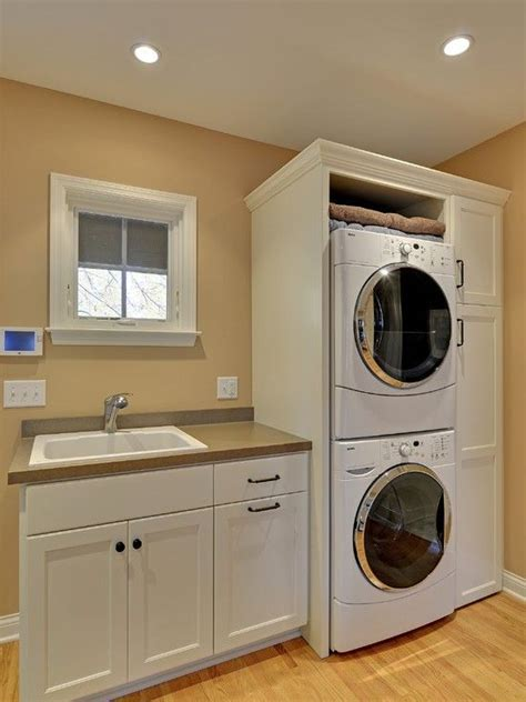 laundry room sink ideas best 25 stacked washer dryer ideas on wash room laundry and utility services