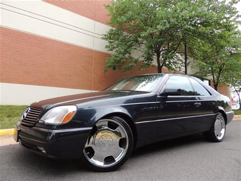 1996 mercedes s class s600 coupe for sale cargurus