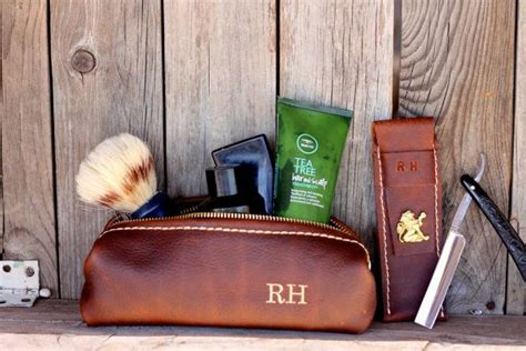 Handmade Groomsmen Gifts - custom groomsman gift personalized leather handmade
