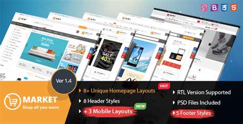 Themeforest Online Store | market multipurpose ecommerce html template by magentech
