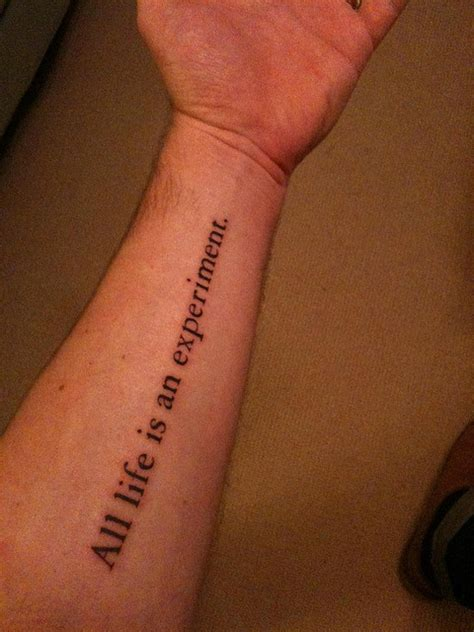 quote tattoos on arm 33 inspirational quote tattoos to consider
