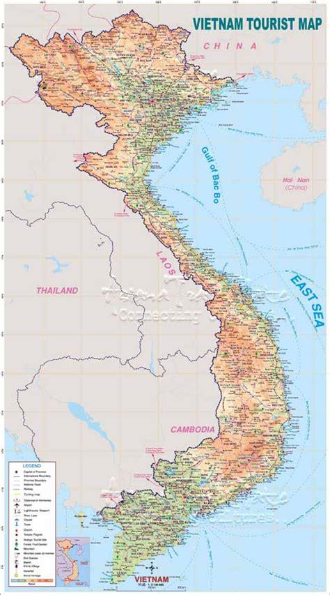 printable vietnam road map vietnam maps printable maps of vietnam for download
