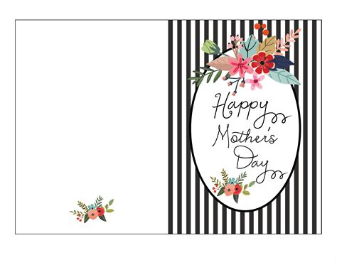 mothers day card template relevant likeness s