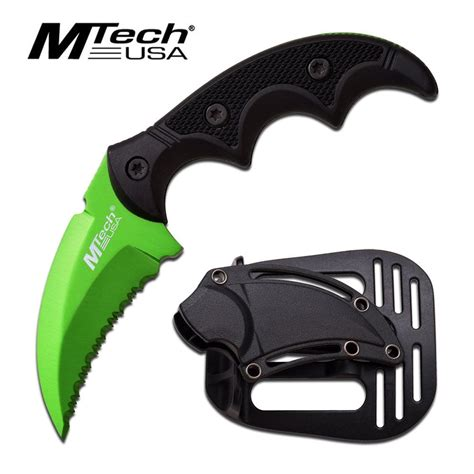 claw knives mtech usa tactical claw knife mt 20 63gn