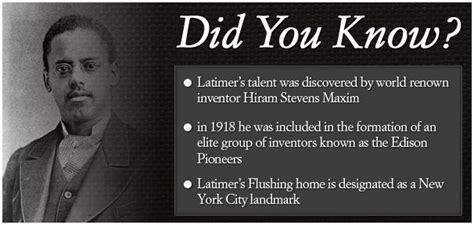 biography black history facts lewis h latimer did you know did you know black history