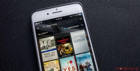 design app for kindle amazon s kindle app gets design overhaul new goodreads