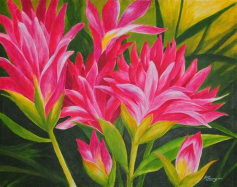 acrylic painting flowers acrylic paintings of flowers my flower garden