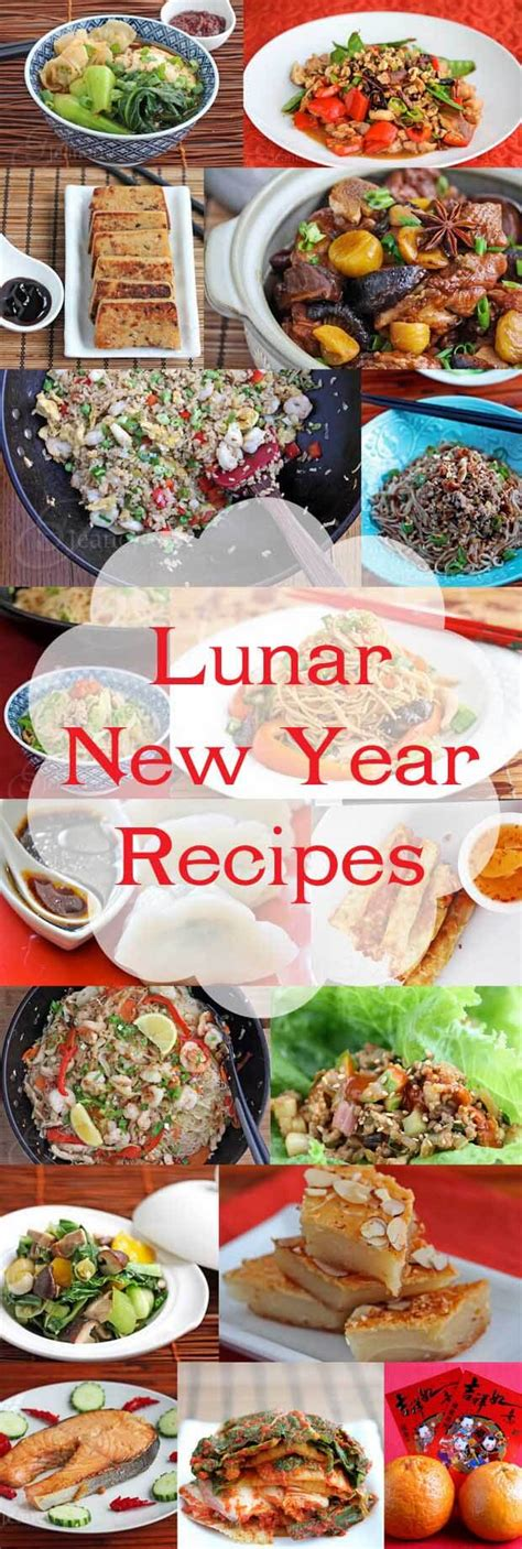new year special foods 20 lunar and new year recipes jeanette s