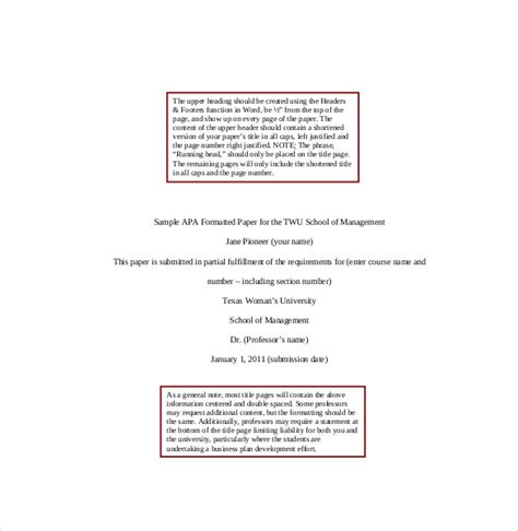 100 apa cover page template word mesmerizing resume