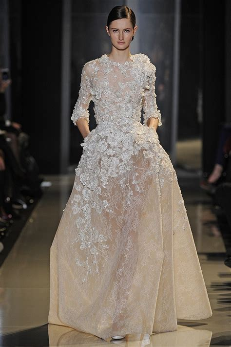 Heart of Gold: Spring 2013 Couture: Elie Saab