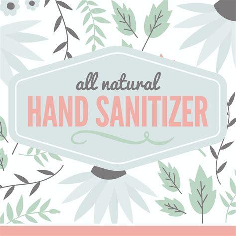 sanitizer template sanitizer label free printable with recipe