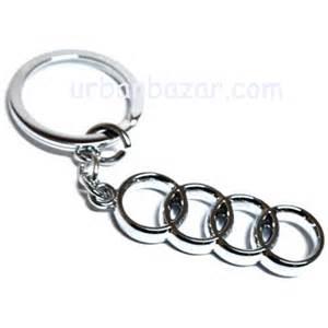 audi stylish key chain metallic keychain car bike key