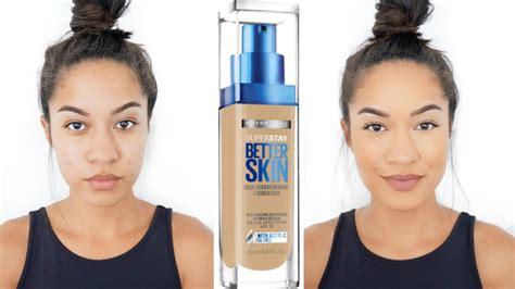 Maybelline Superstay Better Skin Foundation better skin maybelline superstay better skin foundation