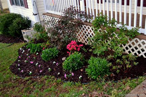 plant bed cleaning out the flower beds sprucing up the outdoors for