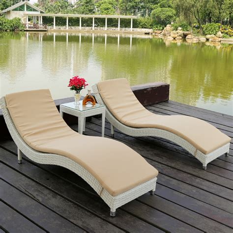 get cheap outdoor wicker chaise lounge chairs