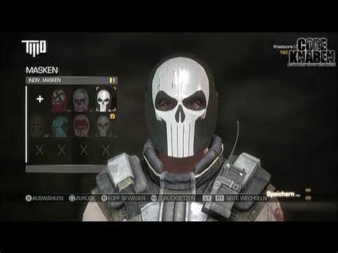Creambath Masker Bq Yp tutorial the punisher mask in army of two the 180 s cartel how to