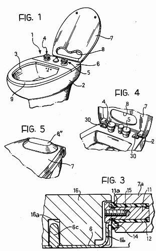 cubre inodoro y bidet cubre bidet 16 de junio de 1992 patentados
