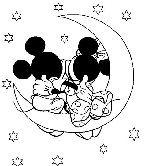 coloring pages mickey and minnie mouse disney coloring page