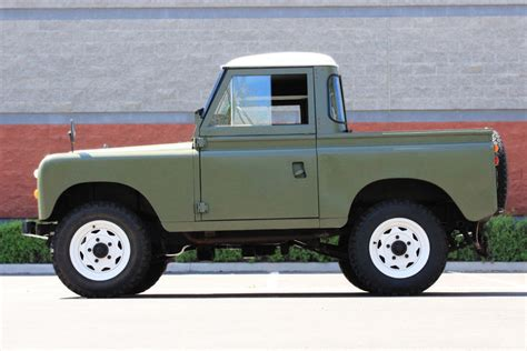 land rover pickup for sale 1975 land rover santana 88 pickup classic collectible
