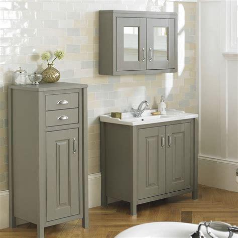 grey bathroom sink unit chiltern 800mm traditional stone grey bathroom storage vanity unit basin sink 163