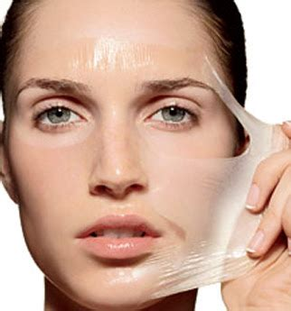 how to make a peel mask of