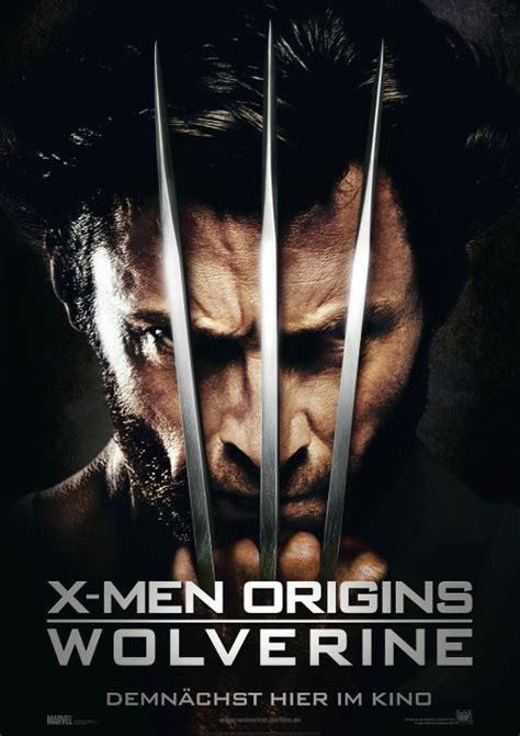 Xman Plakat by Filmplakat Origins Wolverine 2009 Plakat 1