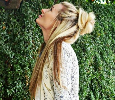 half up bun hairstyles tumblr messy bun hairstyles that will save you this summer