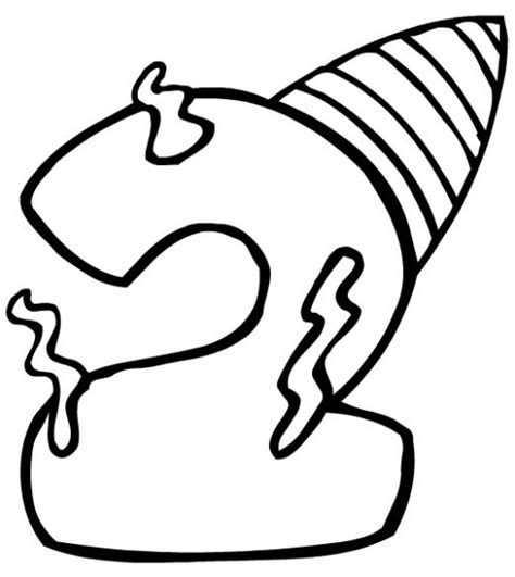 second birthday coloring pages free birthday clip art hubpages
