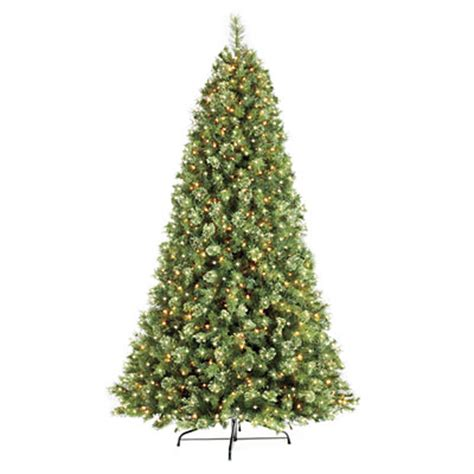 7 5 pre lit artificial christmas tree deluxe cashmere