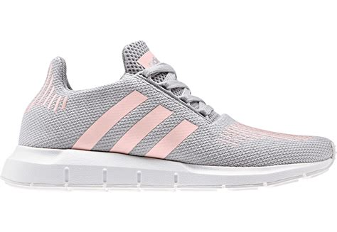 Pink Grey Shoes adidas grey and pink running sneakers cladem