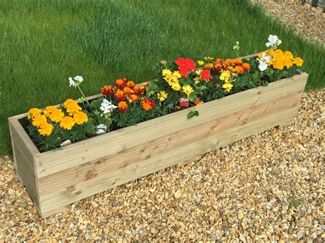 Wooden Garden Troughs And Planters by The 25 Best Garden Troughs Ideas On