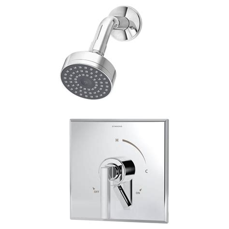 Delta Faucet B112900 by Delta Foundations Single Handle 1 Spray Shower Faucet In
