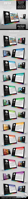 2014 desk calendar template 6361568 187 free download