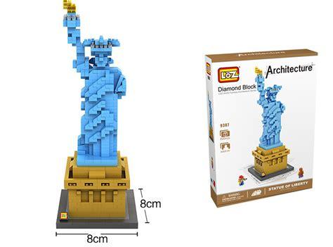 Deforme Block factory loz diy blocks easter island micro blocks