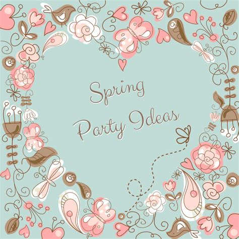 spring themes quotes party themes tagged with childrens parties celebration