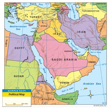 middle east map key smart exchange usa middle east political map
