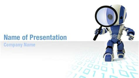 Search Robot Powerpoint Templates Search Robot Powerpoint Backgrounds Templates For Robot Powerpoint Template