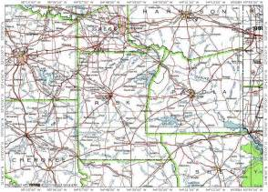 rusk county map rusk county map of 7 of 8