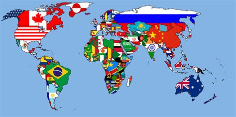 world map with countries flag collection of diagram world map by flags at with