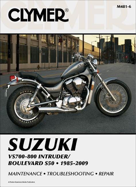 Suzuki Intruder Boulevard S50 Repair Manual 1985 2009 Clymer