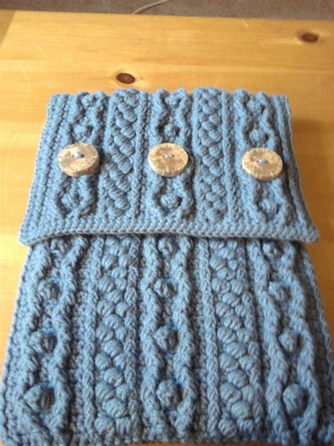 how to knit a laptop sleeve 16 best images about laptop covers on cable