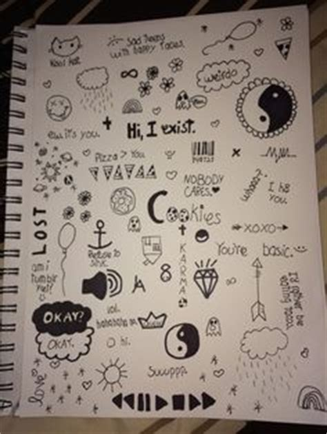 doodle draw journal kristy conlin 1000 ideas about notebook doodles on doodles