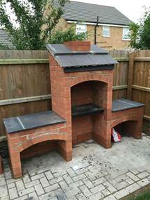 Backyard Brick Grill Cool Diy Backyard Brick Barbecue Ideas Barbecues Bricks And Backyard