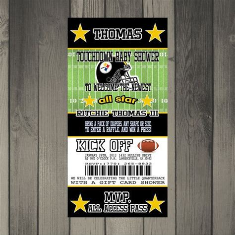 Steelers Baby Shower Ideas by Pittsburgh Steelers Football Themed Baby Shower By
